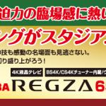 【ハガキ懸賞】【カンタン応募】3名様★ホクト「TOSHIBA REGZA 65V型テレビ 65M530X」