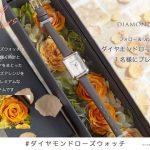 【Twitter懸賞】1名様★AMOROSA MODERN「ダイヤモンドローズウォッチ」