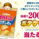 【クローズド懸賞】【アプリ懸賞】200名様★カルビー「ポテケット」
